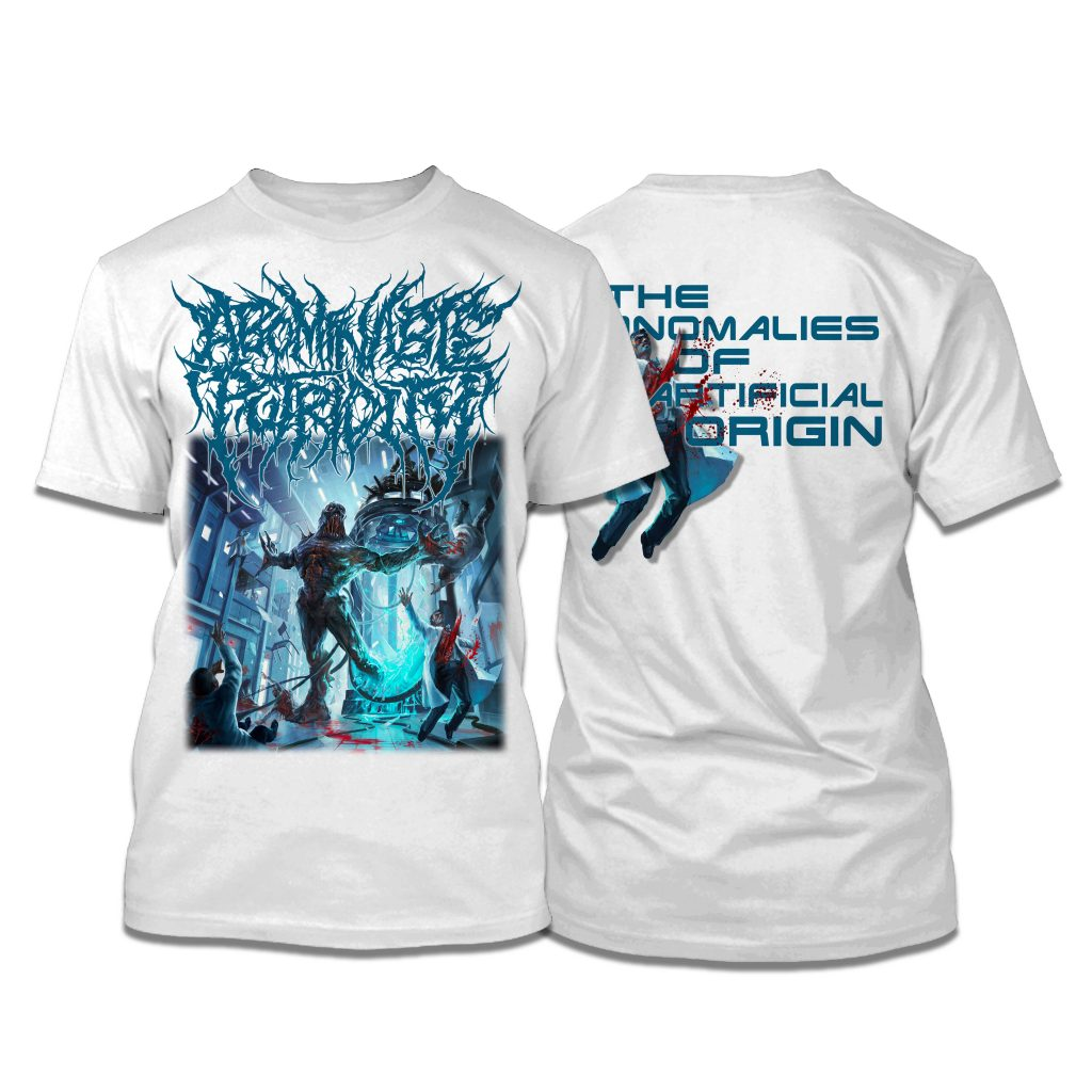 SS ABOMINABLE PUTRIDITY-ART COVER (white)