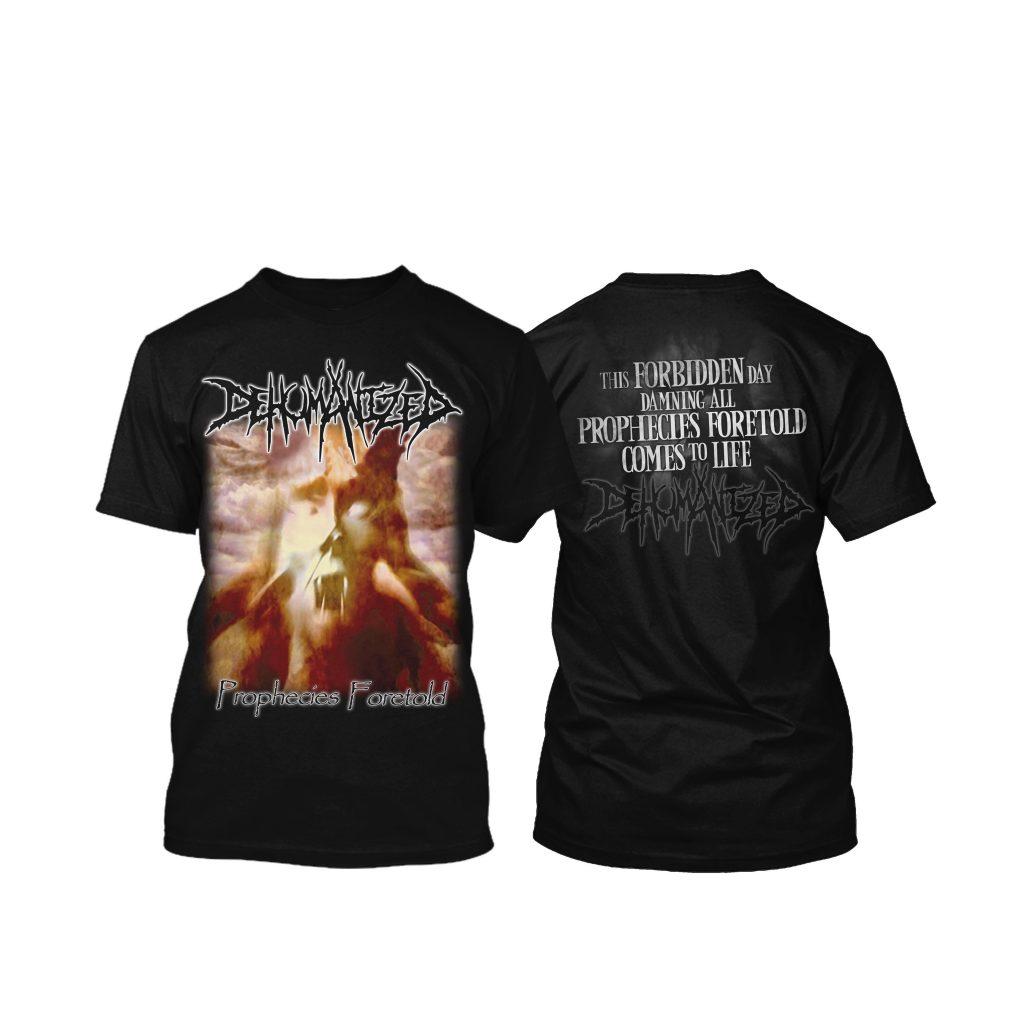 DEHUMANIZED-Prophecies Foretold-Tshirt