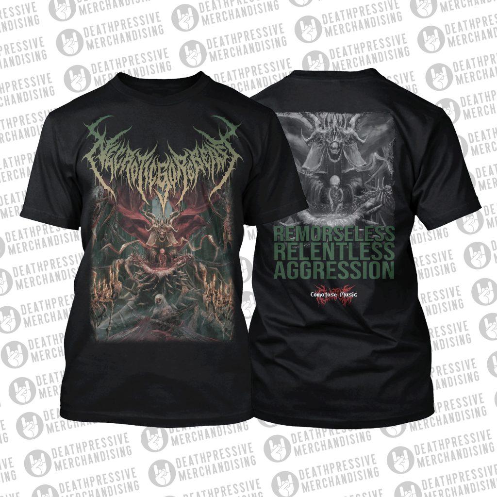 NECROTICGOREBEAST-Relentless Aggression-Tshirt