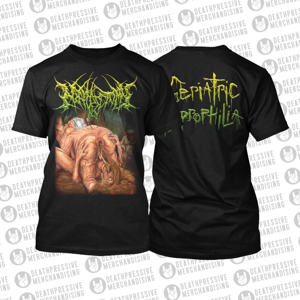 NEPHRECTOMY-Geriatric Necrophilia-Tshirt